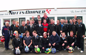 Corporate Events at Nutts Corner Circuit